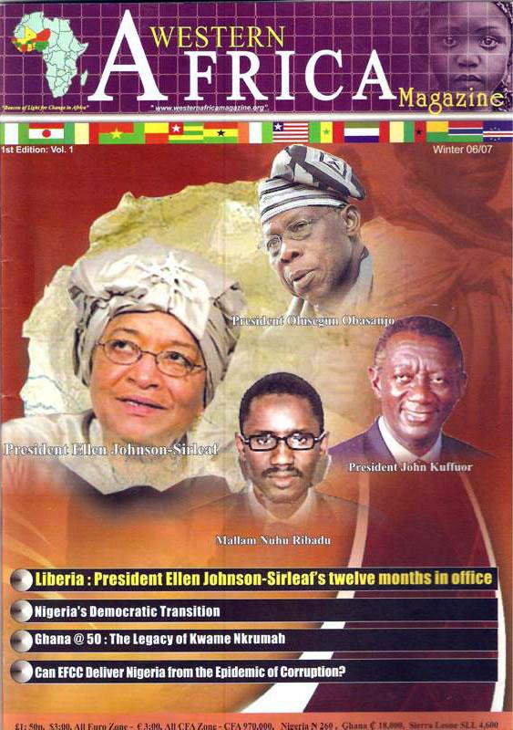 Westen Africa Mag. Vol.11, 1st Edition